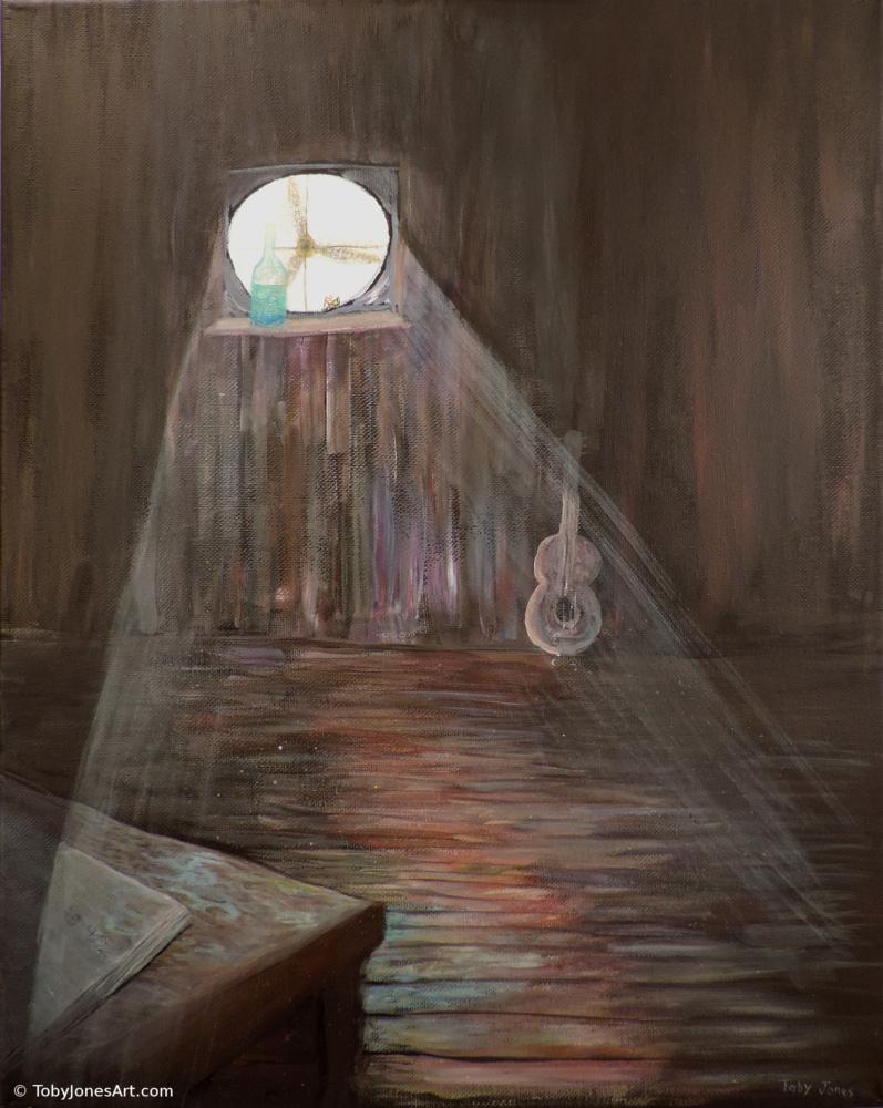 Enlightened Dust Painting